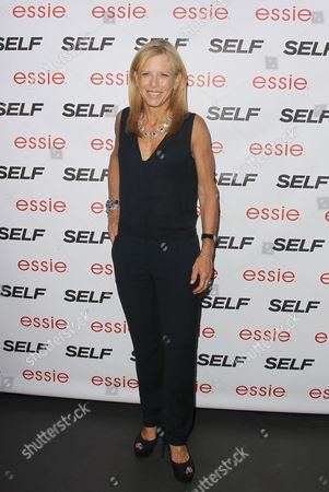 Stock Image of Lucy Danziger editor-in-chief of Self is seen at the Self Rock the Summer, on Tuesday, July, 16, 2013 in New York