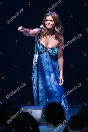 Jacquie Lee performs as the opener for Shawn Mendes at The Greek Theatre, in Los Angeles