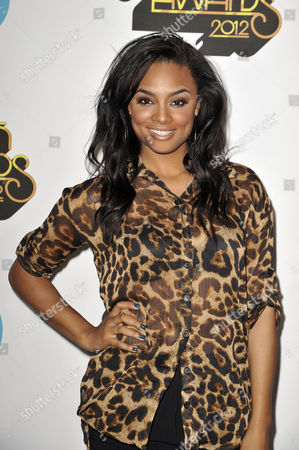 Television personality Alesha Renee arrives at the Soul Train Awards at Planet Hollywood Resort and Casino, in Las Vegas