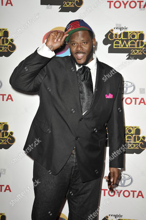 Stock Picture of Singer Abraham McDonald arrives at the Soul Train Awards at Planet Hollywood Resort and Casino, in Las Vegas