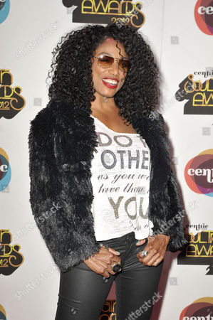 Singer Karyn White arrives at the Soul Train Awards at Planet Hollywood Resort and Casino, in Las Vegas