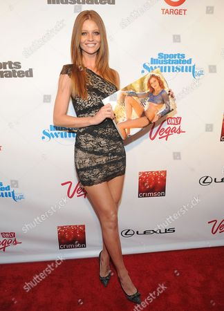 Model Cintia Dicker attends the 2013 Sports Illustrated Swimsuit issue launch party at Crimson on in New York