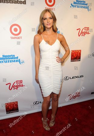 Model Jessica Perez attends the 2013 Sports Illustrated Swimsuit issue launch party at Crimson on in New York