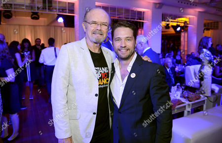 Kurtwood Smith, left, and Jason Priestley attend Stand Up To Cancer Canada, in Toronto