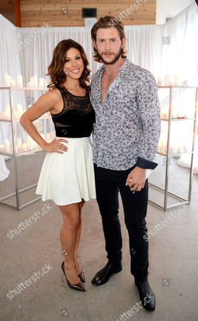 Cristina Rosato, left, and Greyston Holt attend Stand Up To Cancer Canada, in Toronto