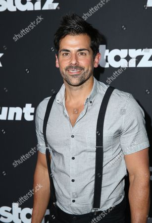 "Stock Picture of Adam Huss arrives at the Los Angeles premiere of ""Blunt Talk"" presented by Starz at the DGA Theater, in Los Angeles"