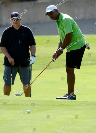 Rocky Carroll participates in the Academy of Television Arts & Sciences 14th Primetime Emmy Celebrity Tee-Off, on Monday, September, 9, 2013 at Oakmont Country Club in Glendale, CA