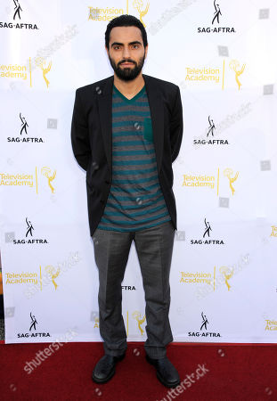 Stock Image of Farshad Farahat seen at the Television Academy's 66th Emmy Awards Dynamic and Diverse Nominee Reception at the Television Academy, in the NoHo Arts District in Los Angeles