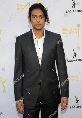 Abhi Sinha seen at the Television Academy's 66th Emmy Awards Dynamic and Diverse Nominee Reception at the Television Academy, in the NoHo Arts District in Los Angeles