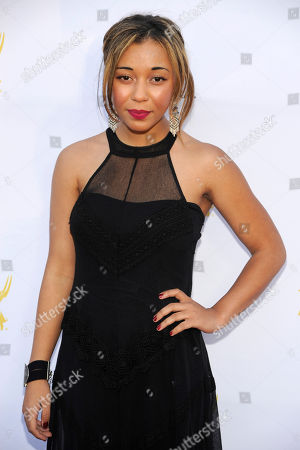 Zoe Soul seen at the Television Academy's 66th Emmy Awards Dynamic and Diverse Nominee Reception at the Television Academy, in the NoHo Arts District in Los Angeles