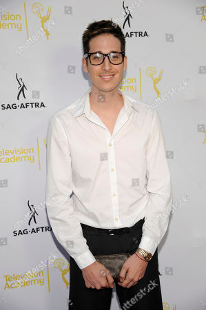 Stock Image of Anthony Pazos seen at the Television Academy's 66th Emmy Awards Dynamic and Diverse Nominee Reception at the Television Academy, in the NoHo Arts District in Los Angeles