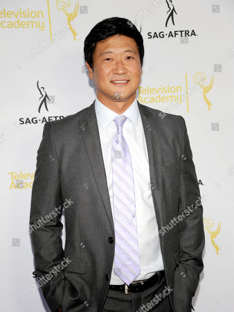 Stock Photo of Tom Choi seen at the Television Academy's 66th Emmy Awards Dynamic and Diverse Nominee Reception at the Television Academy, in the NoHo Arts District in Los Angeles