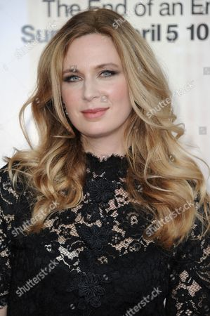 """Anne Dudek arrives at The Black And Red Ball In Celebration Of The Final Seven Episodes Of """"Mad Men"""", in Los Angeles"""