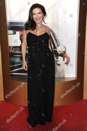 "Laura Harring arrives at The Black And Red Ball In Celebration Of The Final Seven Episodes Of ""Mad Men"", in Los Angeles"