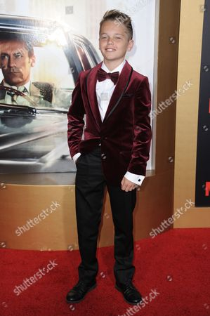"""Mason Vale Cotton arrives at The Black And Red Ball In Celebration Of The Final Seven Episodes Of """"Mad Men"""", in Los Angeles"""