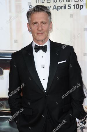"""Christopher Stanley arrives at The Black And Red Ball In Celebration Of The Final Seven Episodes Of """"Mad Men"""", in Los Angeles"""