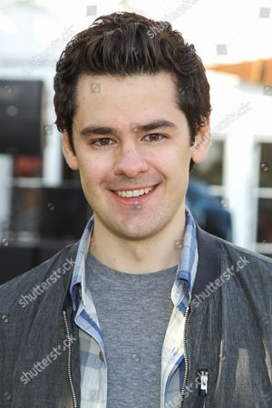 Actor Brendan Robinson attends the Hollister House kickoff event on in Santa Monica, Calif