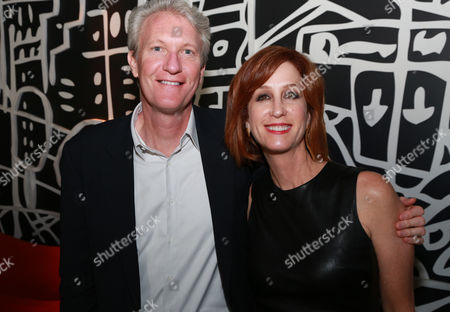 Chris McGurk, left, and Jamie McGurk attend The Hollywood Reporter celebration for the Breakthrough in Film Award honorees at TIFF at the Thompson Hotel, in Toronto