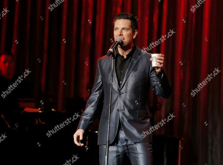 Chris Mann performs at the National Breast Cancer Coalition Fund's 13th Annual Les Girls on in Hollywood, Calif