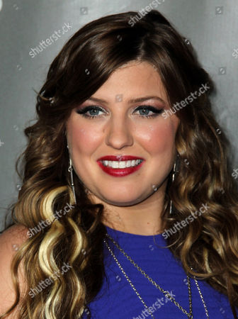 """Sarah Simmons arrive at """"The Voice"""" season 4 red carpet event at the House of Blues on in Los Angeles"""