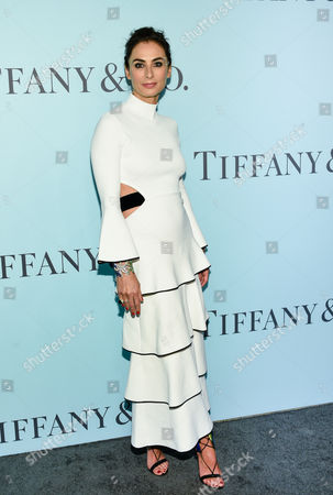 """Tiffany & Co. design director Francesca Amfitheatrof attends the Tiffany & Co. 2016 Blue Book Celebration """"The Art of Transformation"""" at The Cunard Building, in New York"""