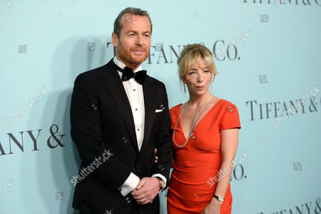 "Tiffany & Co. CEO Frederic Cumenal and Leslie Diamond attend the Tiffany & Co. 2016 Blue Book Celebration ""The Art of Transformation"" at The Cunard Building, in New York"