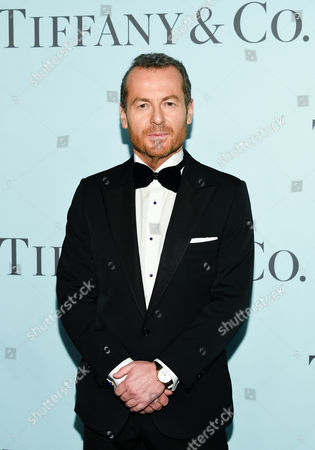"Tiffany & Co. CEO Frederic Cumenal attends the Tiffany & Co. 2016 Blue Book Celebration ""The Art of Transformation"" at The Cunard Building, in New York"