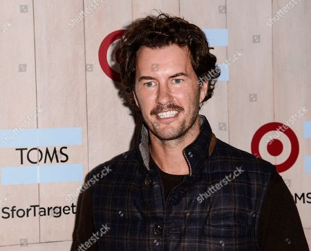 TOMS Founder Blake Mycoskie attends the celebration for the TOMS for Target holiday partnership at The BookBindery on in Culver City, Calif