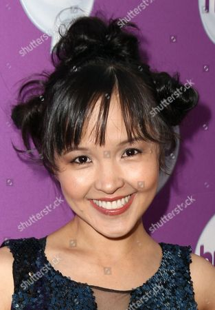 """Actress Tania Gunadi arrives at The Hub's """"Transformers Prime Beast Hunters"""" World Premiere Screening Event on in Universal City, Calf"""