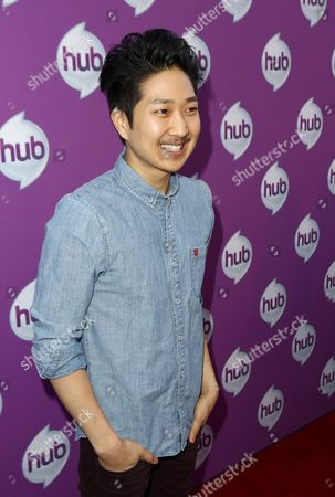 """Actor Tim Jo arrives at The Hub's """"Transformers Prime Beast Hunters"""" World Premiere Screening Event on in Universal City, Calf"""