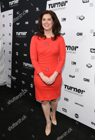 Erin Burnett attends the Turner Network 2016 Upfronts at Nick & Stef's Steakhouse, in New York