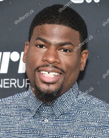 Damien Lemon attends the Turner Network 2016 Upfronts at Nick & Stef's Steakhouse, in New York