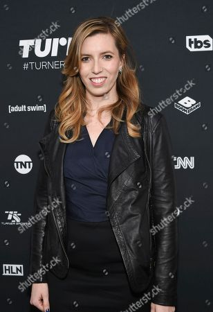 Sarah-Violet Bliss attends the Turner Network 2016 Upfronts at Nick & Stef's Steakhouse, in New York