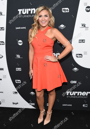Actress Jessica Lowe attends the Turner Network 2016 Upfronts at Nick & Stef Steakhouse, in New York