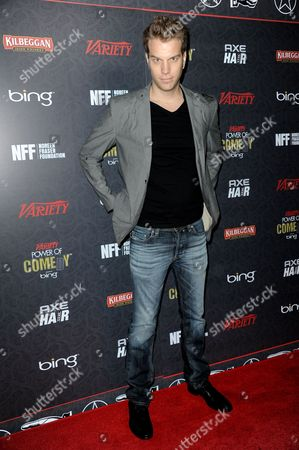 Anthony Jeselnik arrives at Variety Power of Comedy at Avalon Hollywood, in Los Angeles