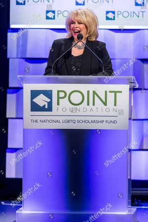 Ilene Graff on stage during the Voices on Point Gala at the Hyatt Regency Century City on in Los Angeles