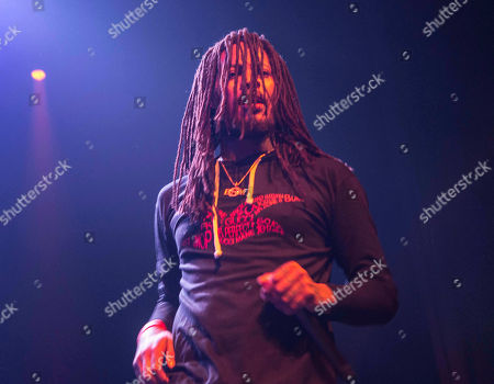 Stock Photo of Juaquin James Malphurs Waka Flocka Flame performs during the Waka Flocka Flame: Flockaveli 1.5 Release Show at Center Stage Theater, in Atlanta