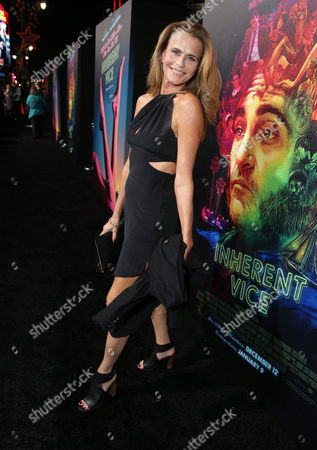 """Serena Scott Thomas seen at Warner Bros Pictures' Premiere of """"Inherent Vice"""", in Los Angeles"""
