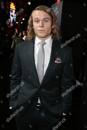 "Jordan Christian Hearn seen at Warner Bros Pictures' Premiere of ""Inherent Vice"", in Los Angeles"