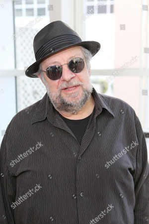 "Actor Ricky Jay poses during the opening of ""Hearsay Of The Soul"" filmmaker Werner Herzog's video installation at the Getty Museum, in Los Angeles, Calif"