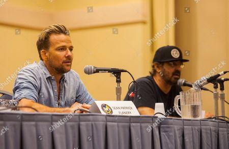 Stock Photo of Sean Patrick Flanery and David Della Rocco appear at the Wizard World Chicago Comic-Con, in Chicago