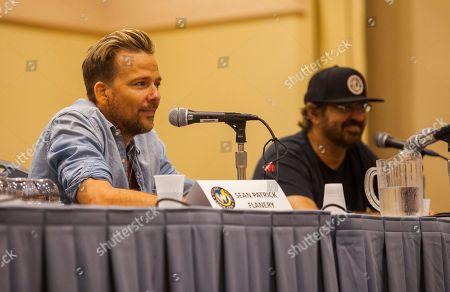 Stock Image of Sean Patrick Flanery and David Della Rocco appear at the Wizard World Chicago Comic-Con, in Chicago