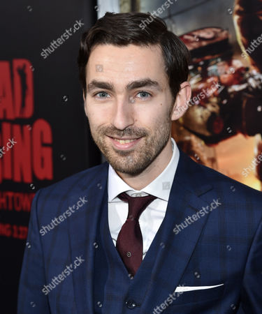 """Director Zach Lipovsky attends the world premiere of Crackle's """"Dead Rising Watchtower"""" at Sony Pictures Studios, in Culver City, Calif"""