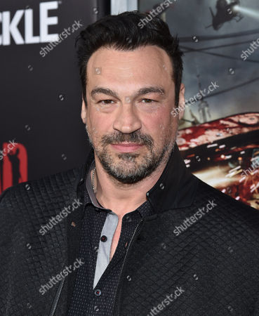 """Aleks Paunovic attends the world premiere of Crackle's """"Dead Rising Watchtower"""" at Sony Pictures Studios, in Culver City, Calif"""