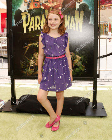 """Madison Moellers attends the world premiere of """"Paranorman"""" at Universal CityWalk Cinemas on in Universal City, Calif"""