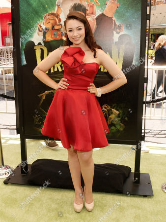 """Jodelle Ferland attends the world premiere of """"Paranorman"""" at Universal CityWalk Cinemas on in Universal City, Calif"""