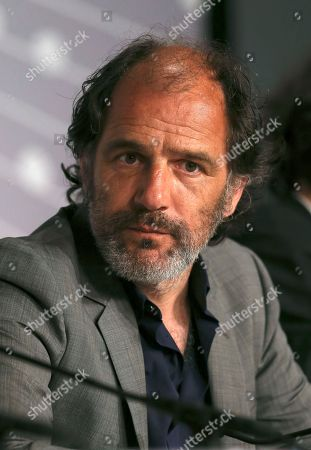 Actor Frederic Pierrot answers questions during a press conference for Young & Beautiful at the 66th international film festival, in Cannes, southern France