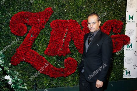 Stock Picture of Actor Said Faraj attends the Zing vodka party hosted by Adrienne Maloof, in Beverly Hills, Calif