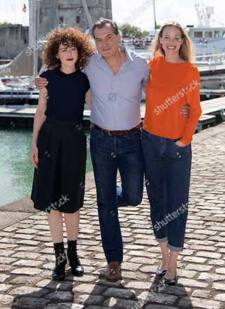 Blandine Bellavoir, Samuel Labarthe and Elodie Frenck