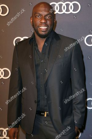 Omar J. Dorsey arrives at the 69th Primetime Emmy Awards Audi pre party at The Highlight Room, in Los Angeles
